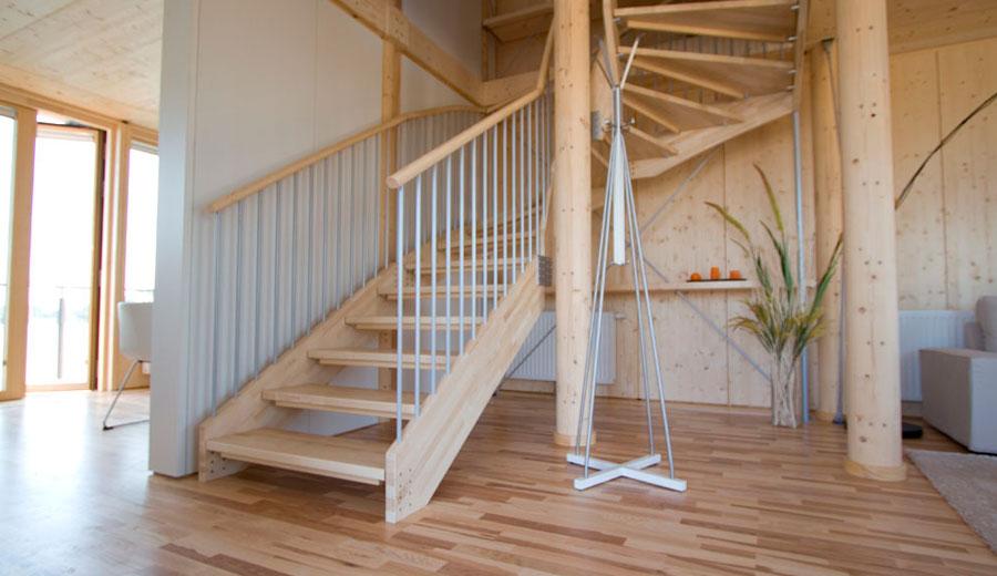Einfamilienhaussiedlung lukas lang building technologies for Einfamilienhaus innenansicht