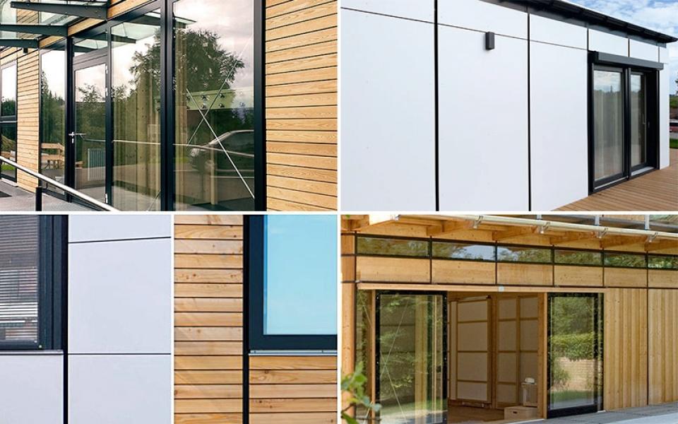 Fassade_Vielfalt_4er Holz und weiss Var 2